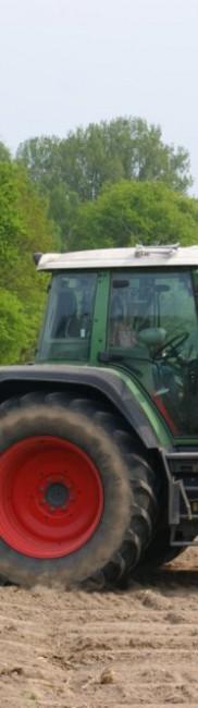 Mais legen im April – in 6 Reihen mit Unterfußdüngung