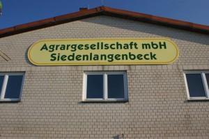 Bürogebäude Agrargesellschaft mbH Siedenlangenbeck - am Abzweig Wöpel