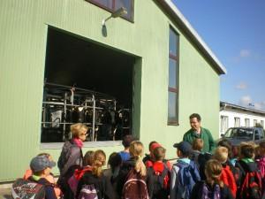 Schülergruppe - Agrargesellschaft mbH Siedenlangenbeck