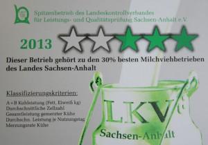 Spitzenbeitrieb LKV Sachsen-Anhalt